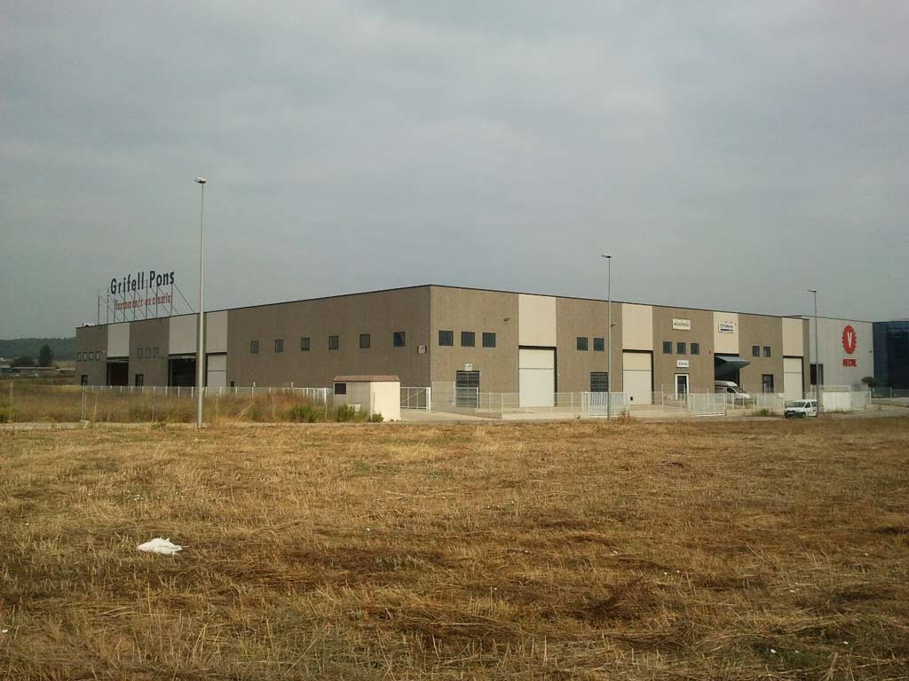 Naves industriales for Lidl oficinas centrales