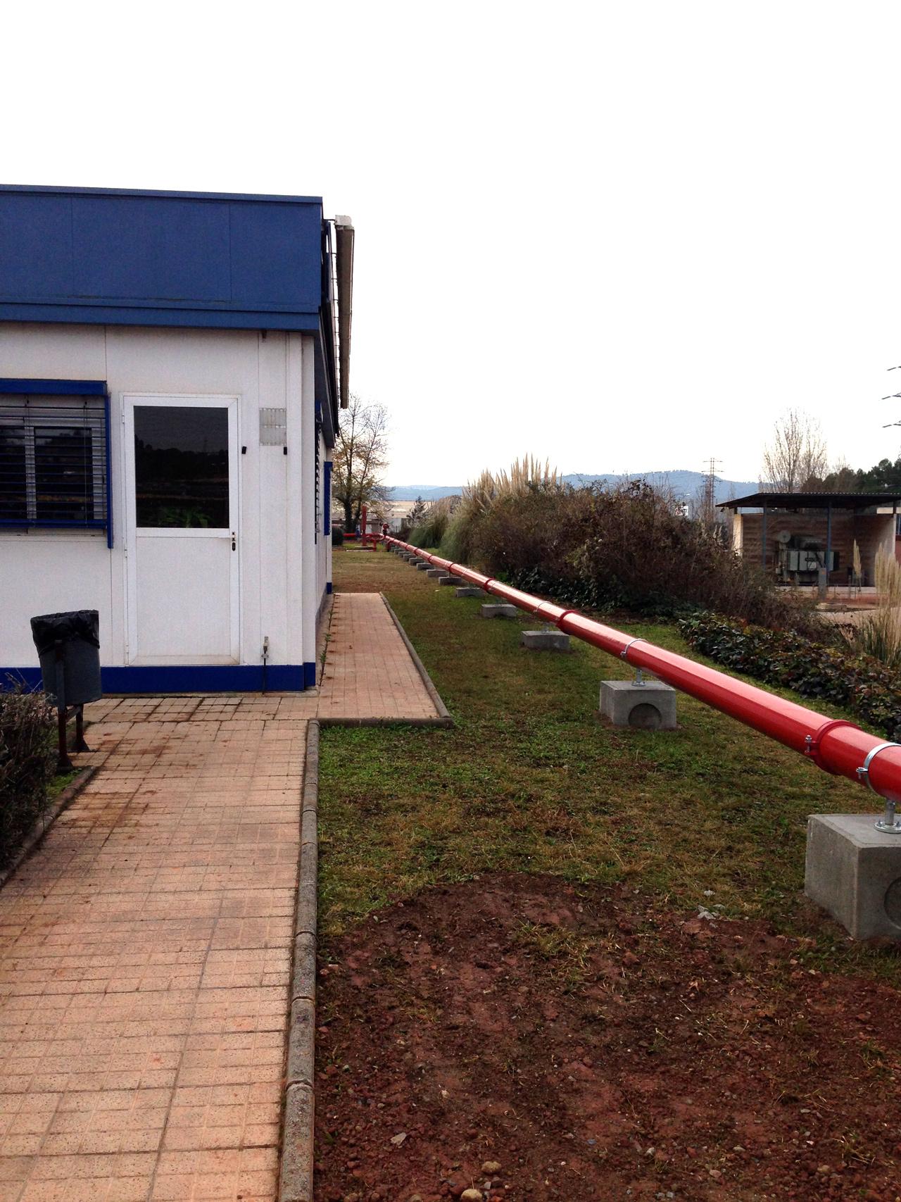 Reforma instalaciones contra incendios planta abell linde for Lidl oficinas centrales